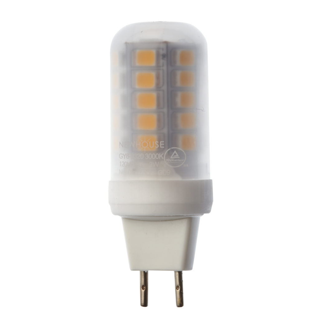 Newhouse Lighting 40w Equivalent Incandescent St19: 2.3W (20W Equivalent) GY6-2320 GY6.35 Base GY6 LED Bulb