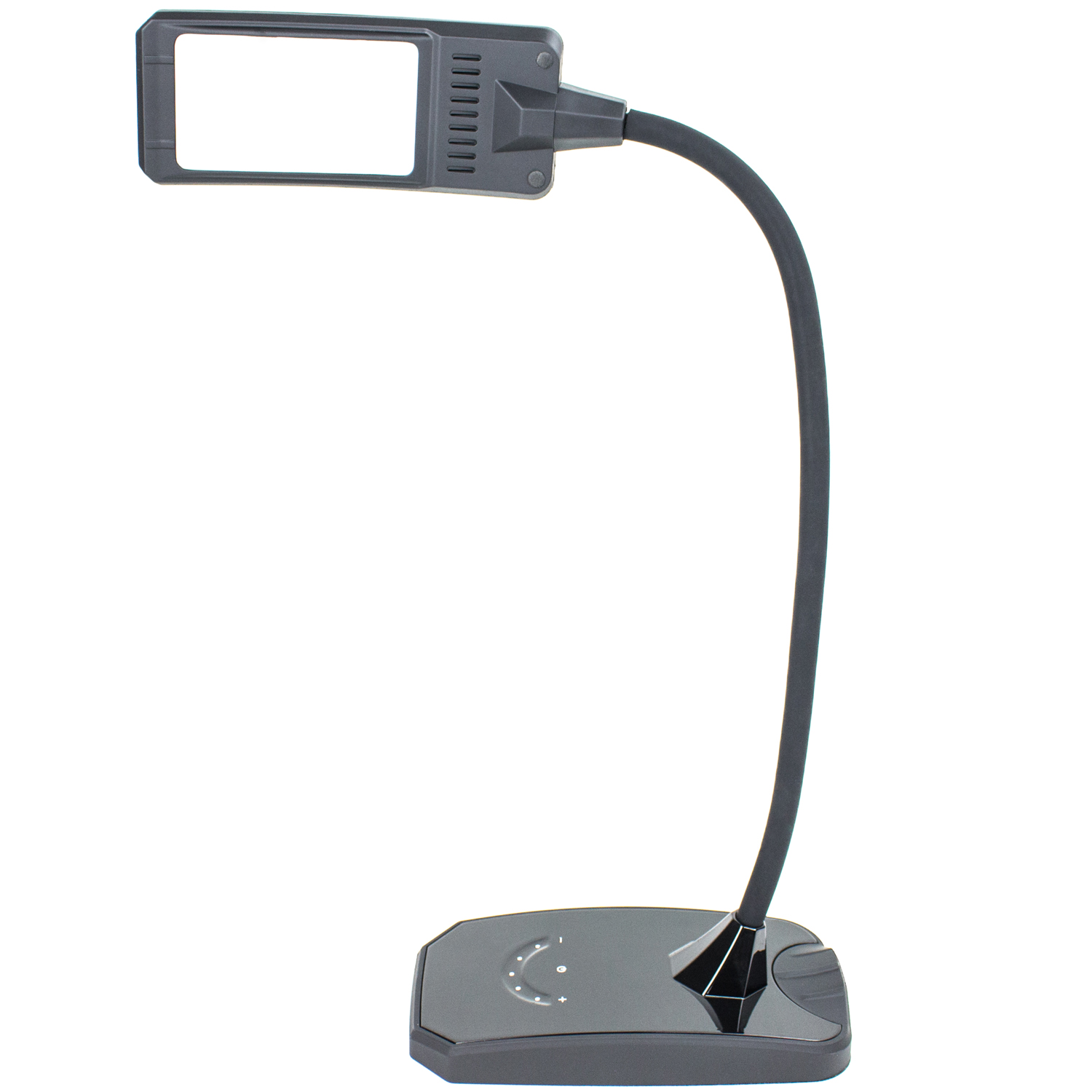 6w Led Desk Lamp W Dimmer And Usb Charging Port Outlet