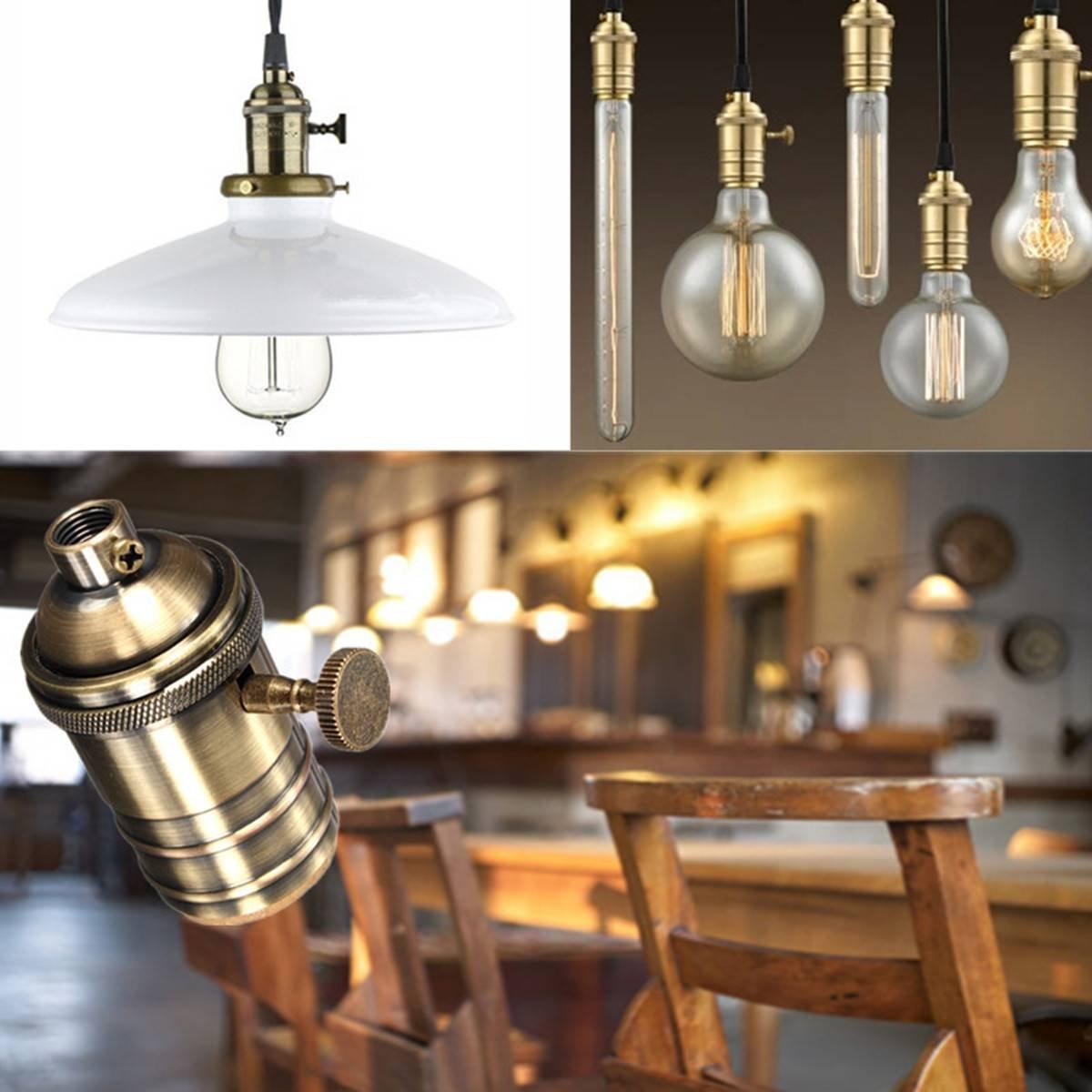 Fresh Newhouse Lighting Vintage Pendant Lamp Holder Brass Light Socket EG72