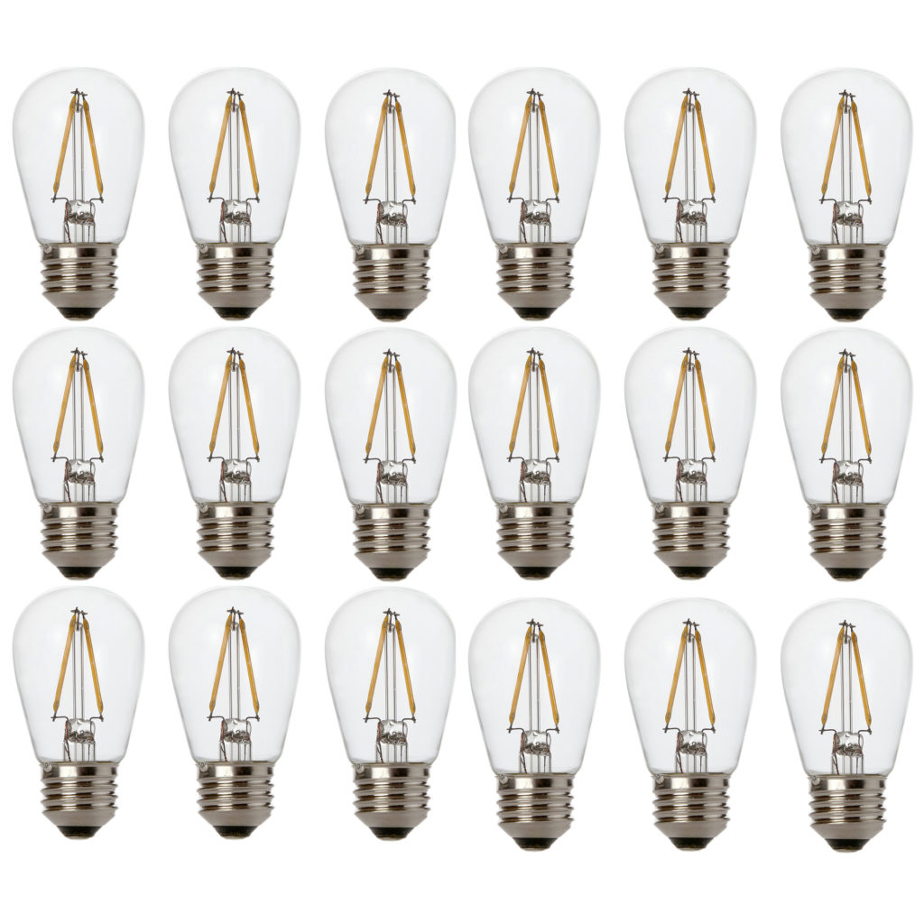 Lighting Basement Washroom Stairs: Newhouse Lighting Outdoor 2W S14 LED Replacement String