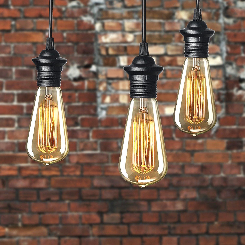 Newhouse Lighting 60 Watt St64 Vintage Edison Filament